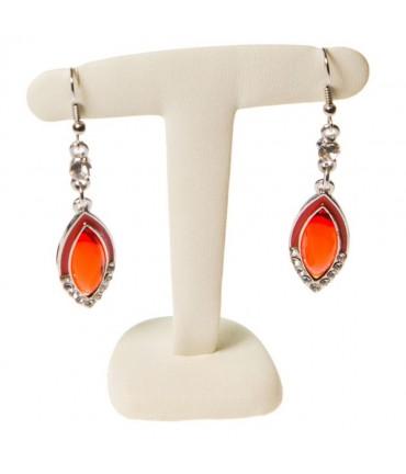 Support boucles d'oreilles T pour bijoutier (1 paire) - Ivoire