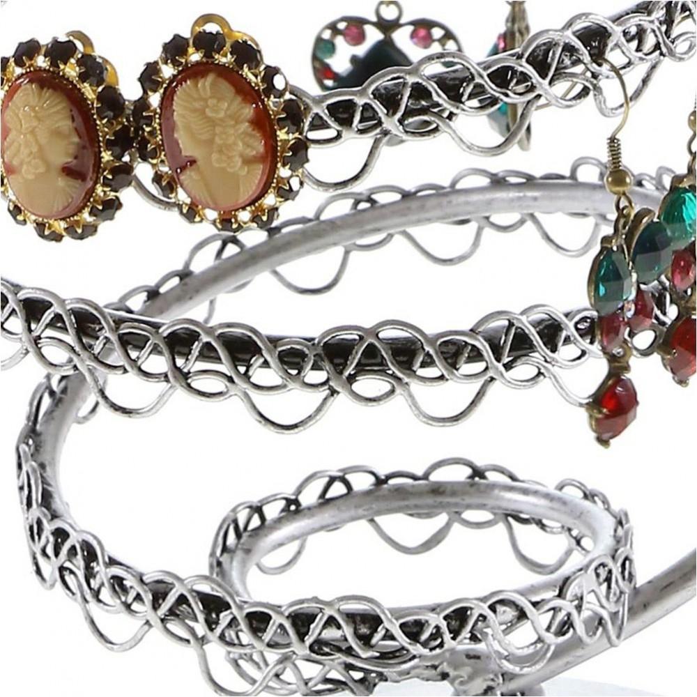 Porte boucle d 39 oreille mini tourbillon tourniquet bijoux - Porte bijoux boucle d oreille ...