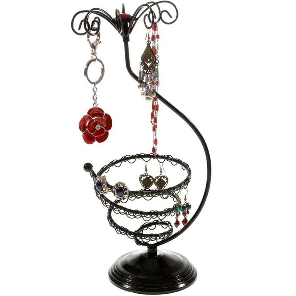 porte boucle d 39 oreille mini tourbillon tourniquet bijoux. Black Bedroom Furniture Sets. Home Design Ideas
