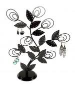 Arbre à boucle d'oreille Original tree (60 paires) - Noir