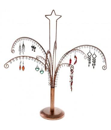 Arbre à boucle d'oreille et bijoux New star 1 (90 paires) - Cuivre