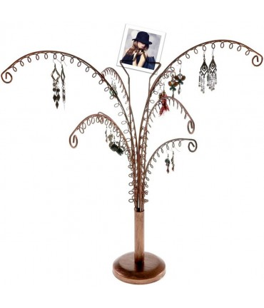 """Arbre à bijoux mixte boucle d""""oreille New star 2 (32 paires) - Cuivre"""