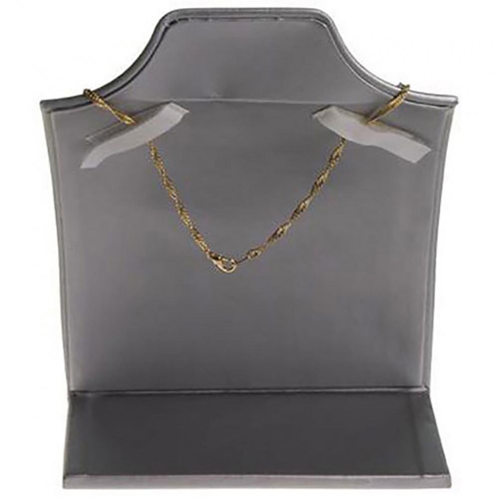 presentoir pou collier buste droit de h 18 cm. Black Bedroom Furniture Sets. Home Design Ideas
