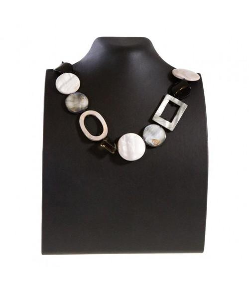 Presentoir pour collier buste droit de 23 cm