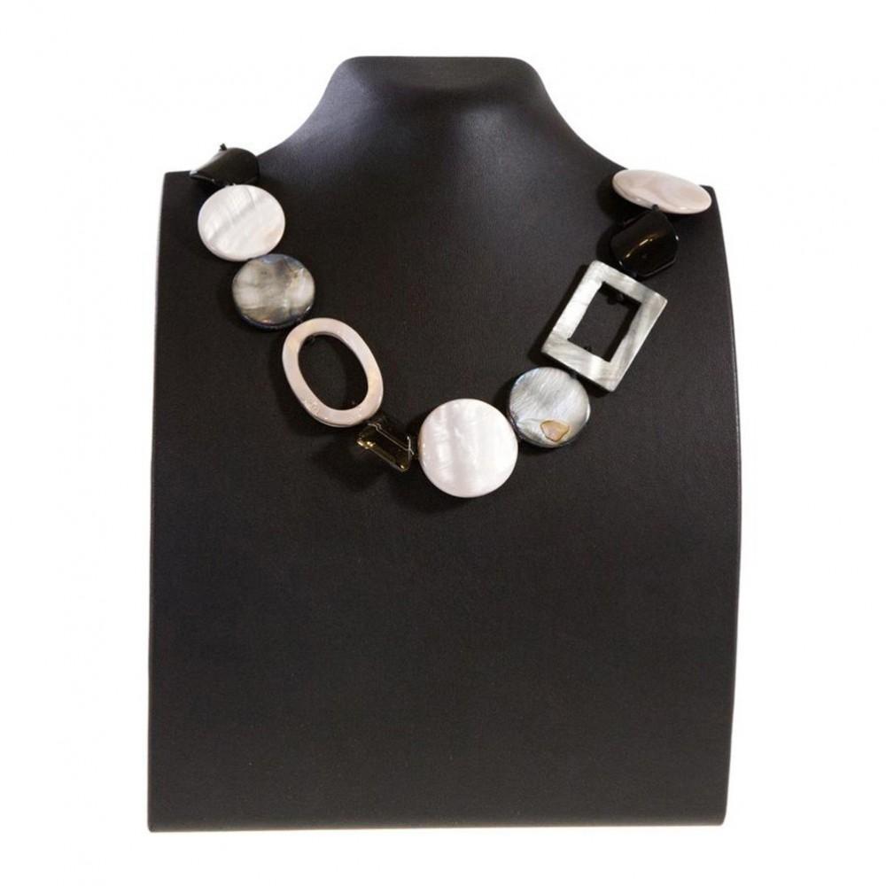 presentoir pou collier buste droit de h 23 cm. Black Bedroom Furniture Sets. Home Design Ideas
