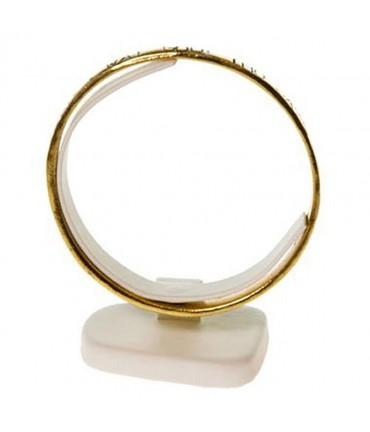 Présentoir mini plot Trapèze support bracelet jonc - Ivoire