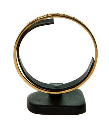 Présentoir mini plot Trapèze support bracelet jonc - Noir