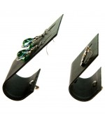 Support boucle d'oreille J pour bijoutier (1 paire) H 9 cm