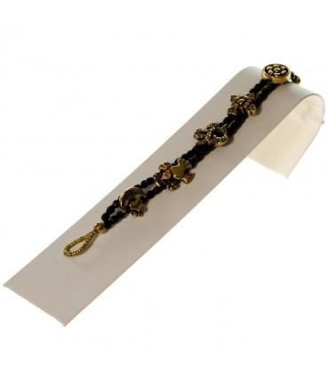 Presentoir bracelet ou montre Toboggan 4 x 18 cm - Ivoire