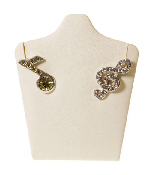 """Mini buste porte bijoux collier ou boucles d""""oreilles 9 cm"""