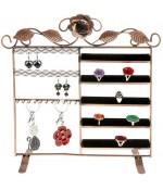 Porte bijoux cadre mixte Lorraine pour bracelet bague boucle - Cuivre