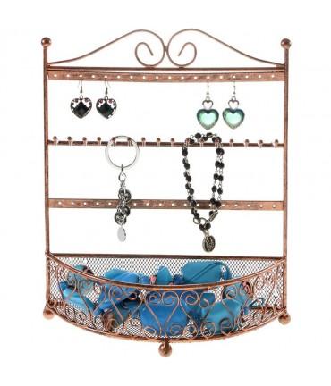 Porte bijoux cadre mixte Corbeille avec panier.