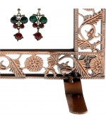 Porte bijoux Cadre mixte collier boucle bracelet accessoire