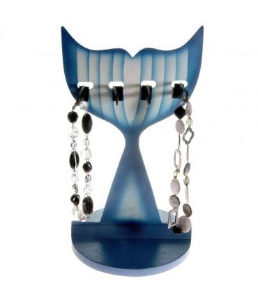 Presentoir collier pour enfant Sweet (4 colliers) - Bleu