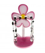 Presentoir collier pour enfant Sweet (4 colliers) - Rose