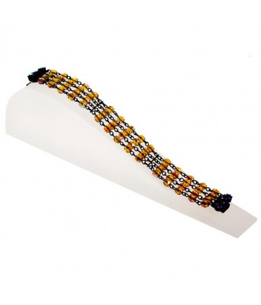 Support bracelet Toboggan Plein en acrylique - Translucide