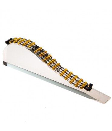 Support bracelet Toboggan Plein en acrylique - Transparent