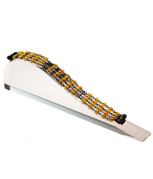 Support bracelet Toboggan Plein en acrylique