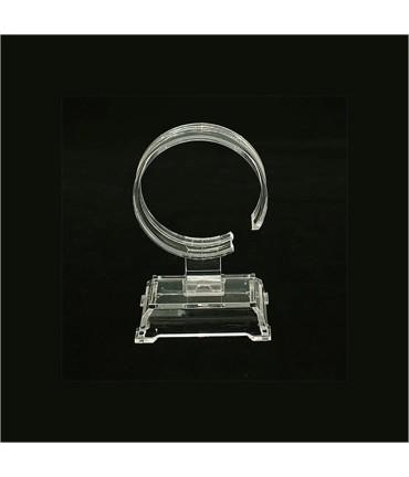 Présentoir support pour bracelet jonc Estrade en plastique - Transparent