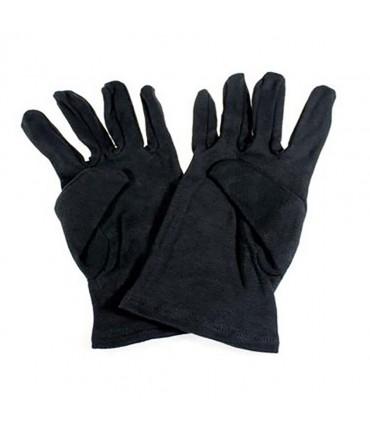 Paire de gants bijouterie 100% coton noirs