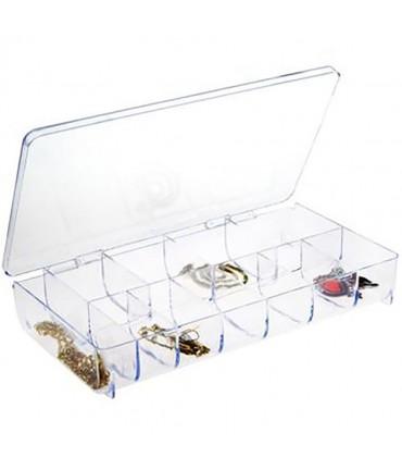 Boite de rangement 20,5 x 10,3 cm (11 compartments)