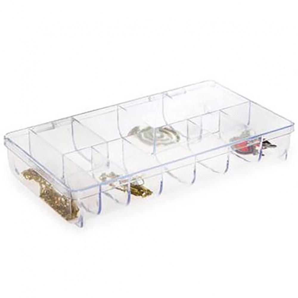 Boite de rangement bijoux appr ts en plastique transparent - Boite de rangement bijoux ...