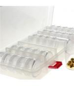 Boite de rangement pour perles et pierres 27x12 x45 cm