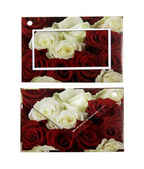 Carte de vœux cadeaux enveloppe (10 pièces)