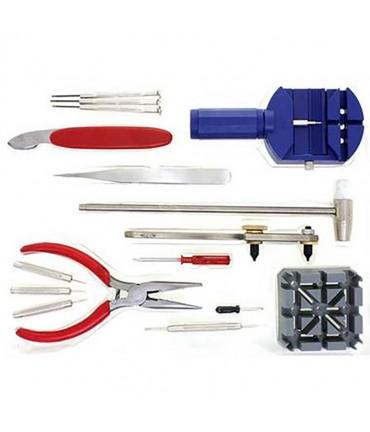 Kit outils horloger pour la réparation de montres - Assortiment