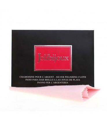 Chamoisine de nettoyage pour bijoux argent Jolibijoux - Rose