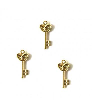 Breloques clefs 23.5 mm (20 pièces)