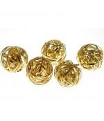 Perles rondes 20mm  fabrication bijoux (1 pièce)