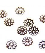 Calottes coupelles intercalaires fleur (50 pièces)