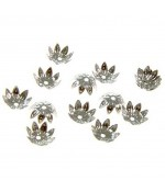 Calottes bijoux intercalaires coupelles 11 mm (50 pièces)
