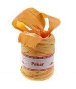 Bolduc raphia emballage cadeau bicolore (200 mètres) - Orange