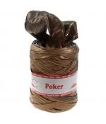 Bolduc raphia emballage cadeau bicolore (200 mètres) - Marron