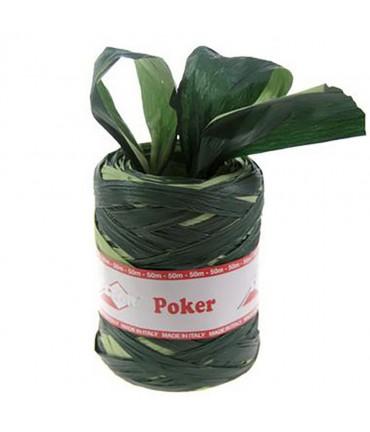 Bolduc raphia emballage cadeau bicolore (200 mètres) - Vert