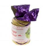 Bolduc raphia emballage cadeau brillant bicolore (25 mètres) - Violet