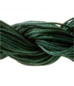 Fil nylon 1 mm pour bracelet shamballa écheveau de 24 mètres - Emeraude