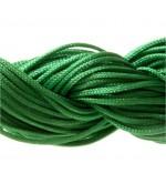 Fil nylon 1 mm pour bracelet shamballa écheveau de 24 mètres - Vert