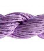 Fil nylon macramé 1,5 mm (12 mètres) - Parme