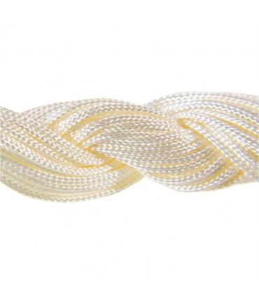 Fil nylon macramé 1,5 mm (12 mètres) - Beige