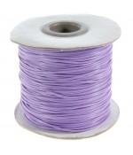 Fil coton ciré 1 mm en bobine de 80 mètres