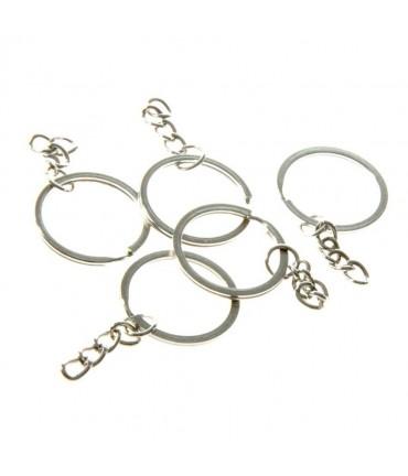 Support anneau chaine porte clé