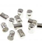 Embout cordon à coller 5 mm (50 pièces)