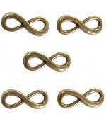 Connecteurs bracelets Infinity (5 pièces)
