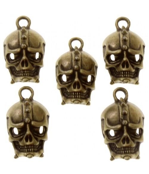 Breloque pendentif Tête de mort