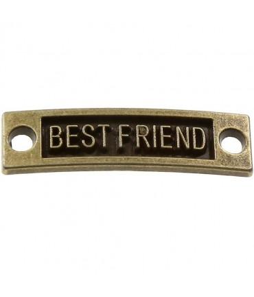 Connecteur plaques Best friend (5 pièces)