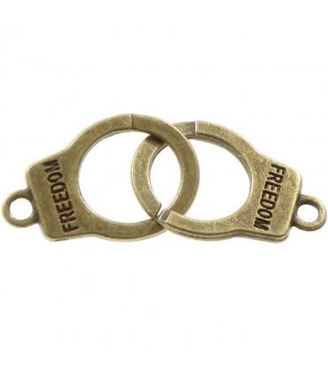 Connecteurs bracelets Menottes (5 pièces)