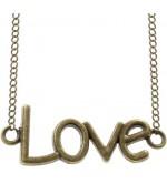 Connecteurs bracelets Love (5 pièces)